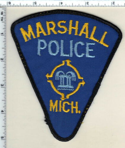 Marshall Police (Michigan) Uniform Take-Off  Patch from 1991
