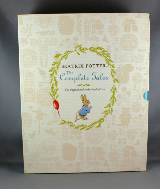 Beatrix Potter The Complete Tales The Original and Authorized Edition-Brand New