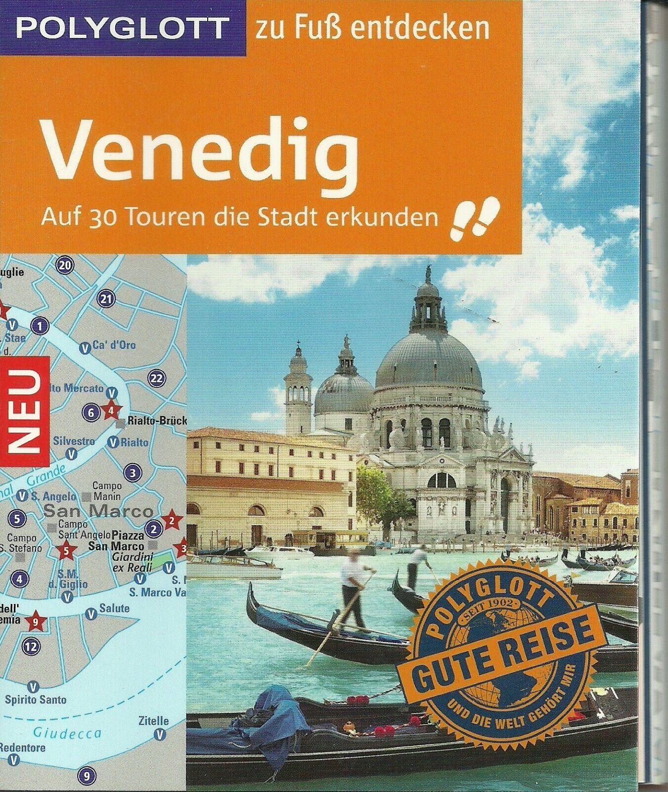 Stadtführer Venedig auf 30 Touren die Stadt erkunden Stadtplan Ungelesen,wie neu