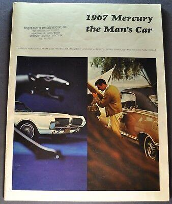 1967 Mercury Large Brochure Cougar Marquis Park Lane Monterey Montego Cyclone - 1967 Mercury Park Lane