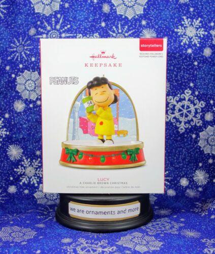 Hallmark Ornament - 2018 Lucy Storytellers Christmas Ornament