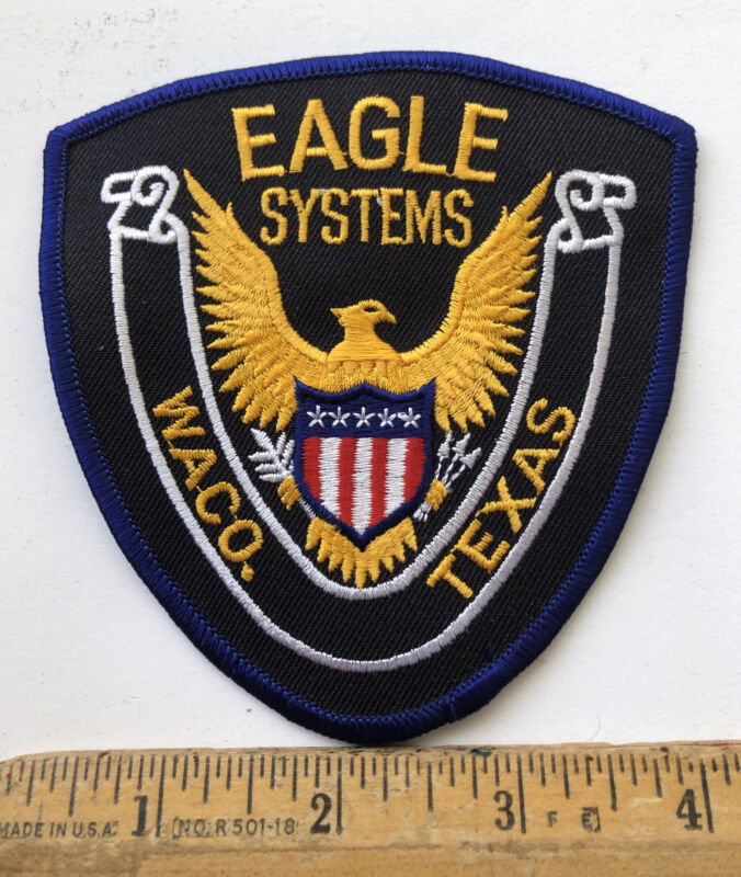 Vintage Eagle Systems Security Guard Service Waco Texas Patch
