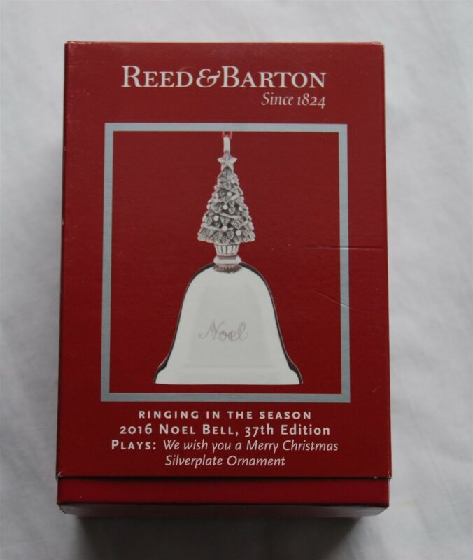 Reed & Barton 2016 NOEL Musical Bell 37th Edition