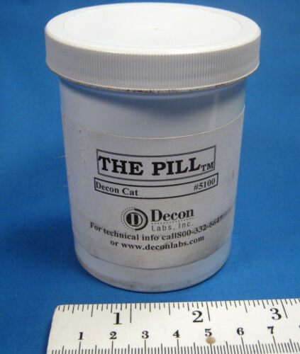 """DECON  LABS  """"THE  PILL""""  100  CAPSULES  NEW  OLD  STOCK  FREE  SHIPPING"""