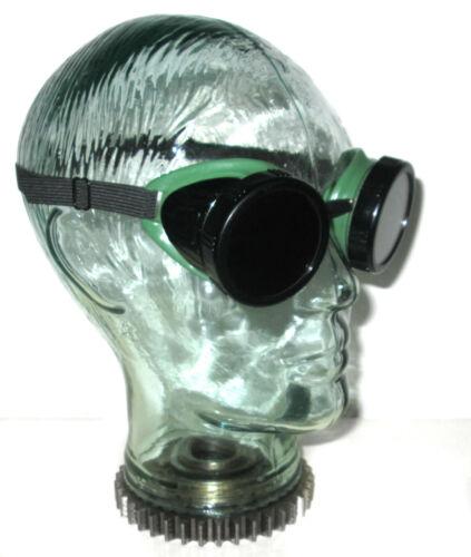 Vintage Morse Morsafe Goggles Safety Glasses Old Rockabilly Welding Steampunk