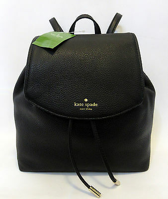 Kate Spade Small Breezy Mulberry Street Backpack Black Book Bag Travel Bag $329