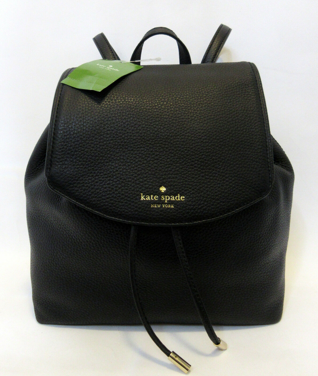 Kate Spade Unprofound Breezy Mulberry Street Backpack Black Book Bag Travel Bag $329