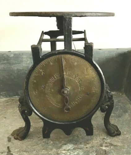 Antique Cast Iron TURNBULL