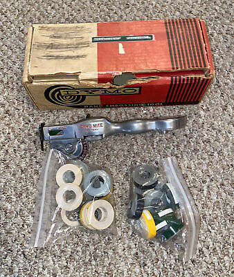 Vintage Dymo Mite With Original Box And Tape - Fantastic Condition - See Photos