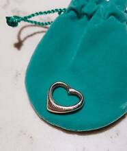 Tiffany&Co ELSA PERETTI OPEN HEART PENDANT Sterling Silver West Melbourne Melbourne City Preview