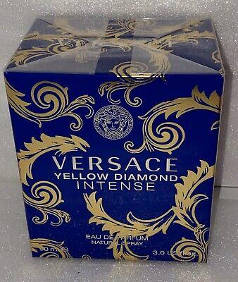 VERSACE YELLOW DIAMOND INTENSE Perfume 3.0 oz women edp NEW IN BOX