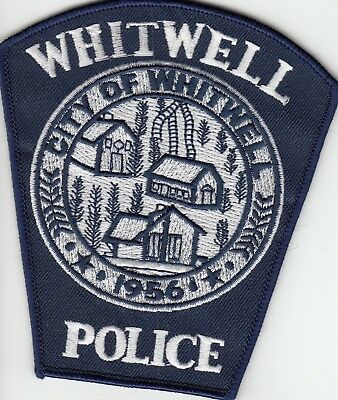 WHITWELL POLICE SHOULDER PATCH TENNESSEE TN