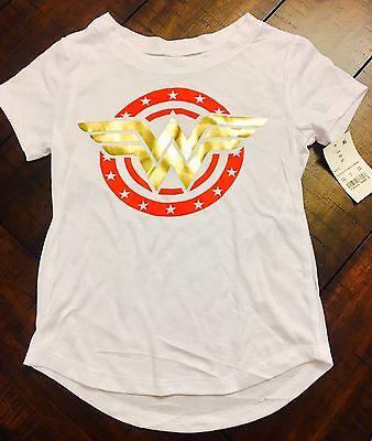 Official DC Universe Wonder Woman Shirt Top Kids Girls (Size XS - Kids Wonder Woman Shirt