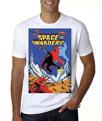 RETRO GAMER SPACE INVADERS T-SHIRT KIDS TO ADULT SIZES - Kids Space Invaders T-shirt