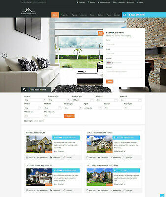 Real Estate And Rental Website Free Hosting With Ssl
