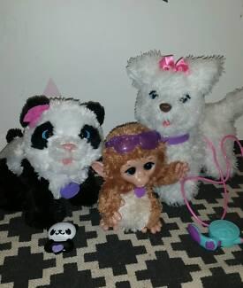Fur Real Friends Panda Monkey and Dog Melton Melton Area Preview