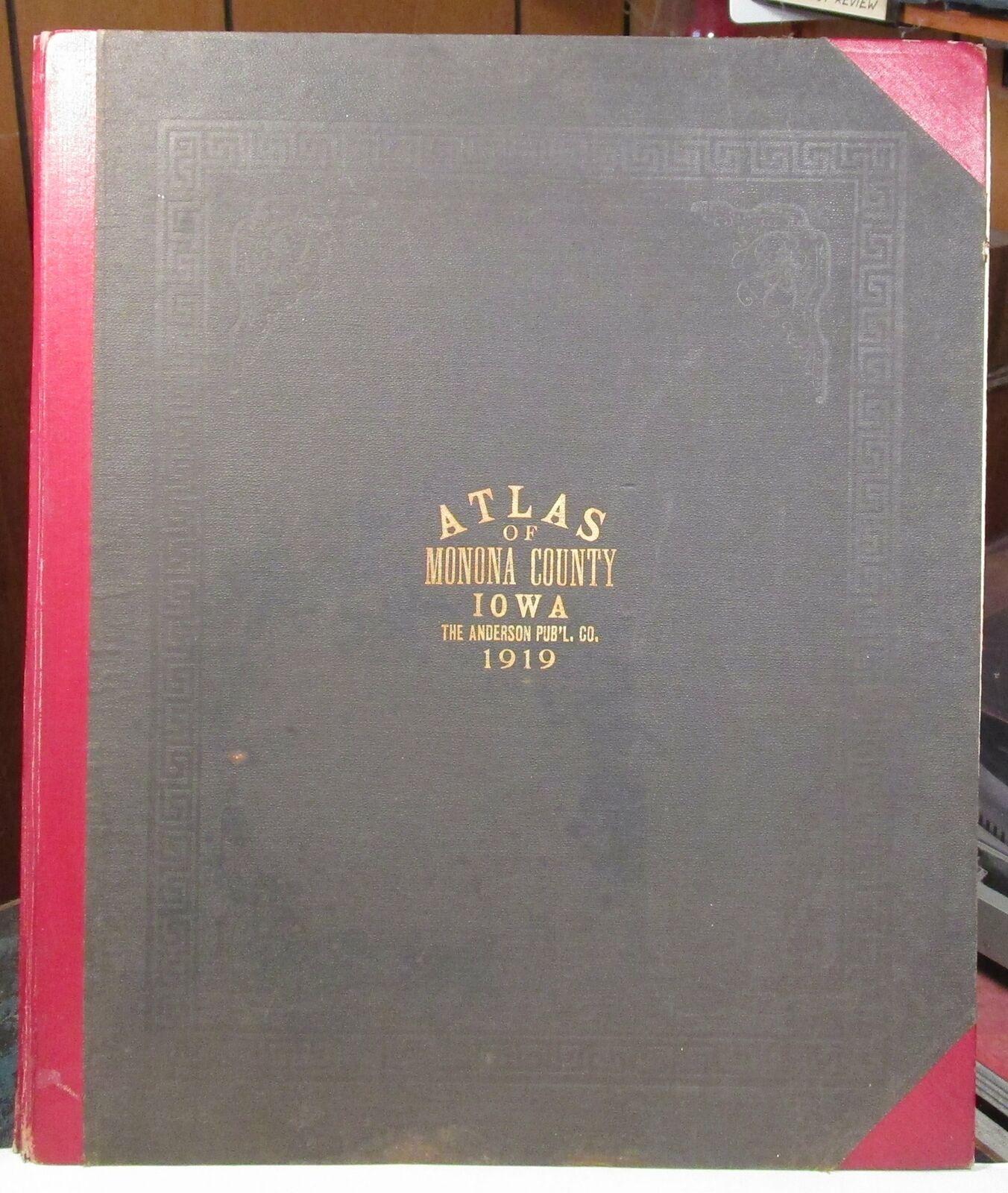 1919 Atlas of Monona County Iowa