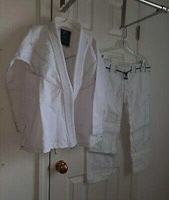 Origin Boys or Girls White Jiu-Jitsu Gis BJJ Szes 5/6, 6/7, 7/8, 8/9 NWOT