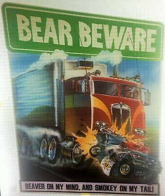 Vintage T-shirt Heat Transfer Lot Of 3 Bear Beware Risque Roach 1970s-80s