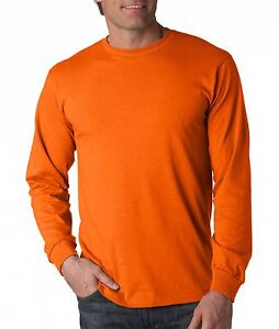 Fruit-of-the-Loom-Heavy-Cotton-Long-Sleeve-T-Shirt-4930R-Sizes-S-3XL-25-Colors