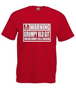WARNING-GRUMPY-OLD-GIT-CONTAINS-MEMORY-LOSS-AND-SWEARING-T-SHIRT-Funny-Dad