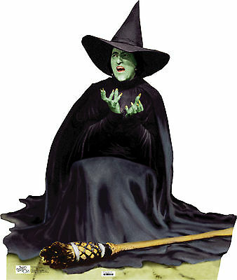WICKED WITCH MELTING(WIZARD OF OZ) LIFE SIZE STAND UP FIGURE FILM STORY FANTASY!