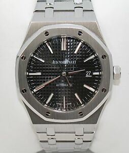 Audemars Piguet ~ Royal Oak Self Winding ~ 41mm Stainless Steel Mens Watch ~MINT