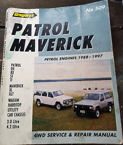 Patrol Maverick Gregory's work shop manual Albanvale Brimbank Area Preview