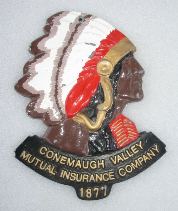 FIRE MARK: Conemaugh Valley Mutual Insurance Company- PLAQUE/ SIGN
