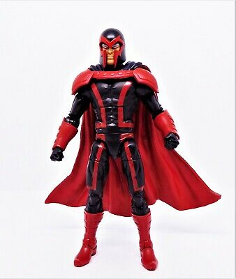 Marvel Legends X-Men Apocalypse wave Magneto action figure, New! Black Costume