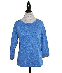 J.Crew Featherweight French Terry Sweatshirt New size L Heather Azure