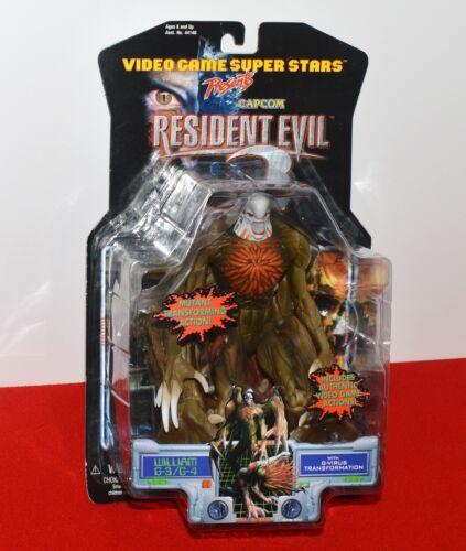 Resident Evil 2 William G-3/G-4 w/ G-Virus Action Figure Capcom ToyBiz Sealed