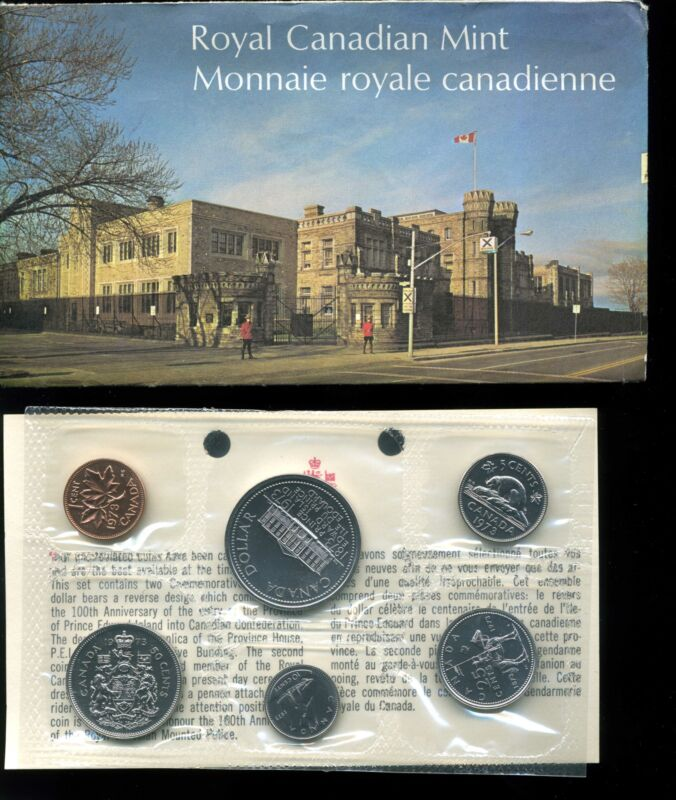 Canada 1973 Proof-Like Uncirculated Mint Set