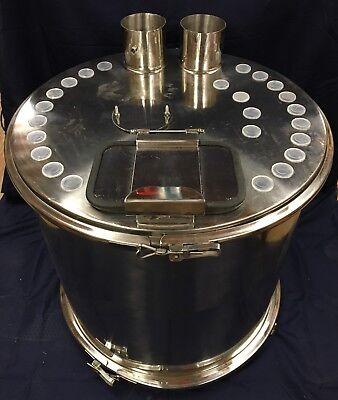 Gemapowder Coatinghopper150lb Fluidizing Hoppergemanordson Wagnergunpump