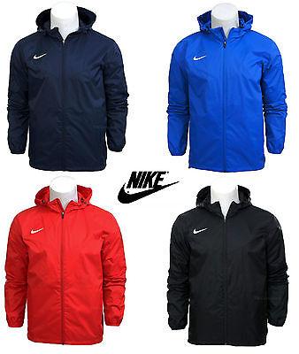 Nike Zip Rain Jacket Waterproof Coat Top Hooded Hoodie Wind Stopper S-XXL