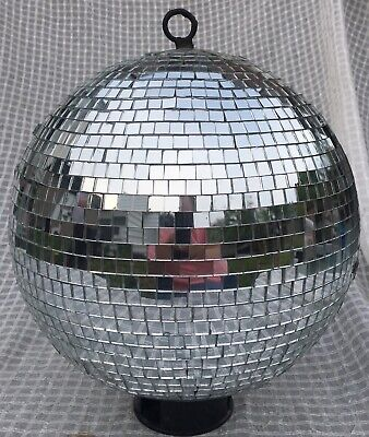 12 Inch Disco Ball (Vintage 12 Inch Mirrored Glass Disco Ball Needs Some)