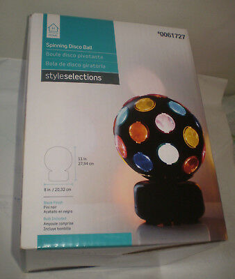 Disco Ball Spinning size MED. Style Selections for child room or house parties - Disco Balls For Kids