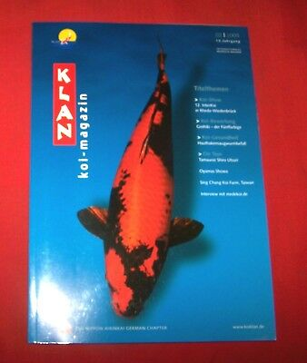 Klan Koi Magazin 2005 Nr  2 , 13. Jahrgang , Internationales Nishikigoi Magazin