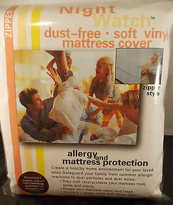 """PLASTIC SOFT VINYL MATTRESS COVER-KING 9"""" MATTRESS HEIGHT-W/ZIPPER-A GREAT BUY X for sale  Shipping to India"""