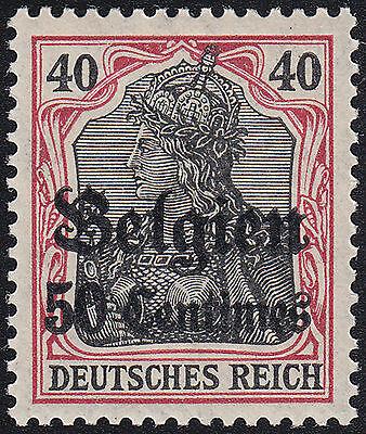 Bes. 1. Weltkrieg Belgien Mi.Nr. 5 I postfrisch geprüft BPP Mi.Wert 150€ (700)