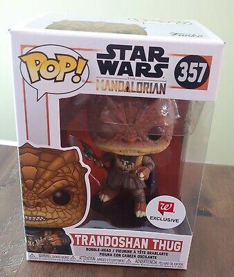 Funko POP! Star Wars: The Mandalorian 357 Trandoshan Thug Walgreens Exclusive