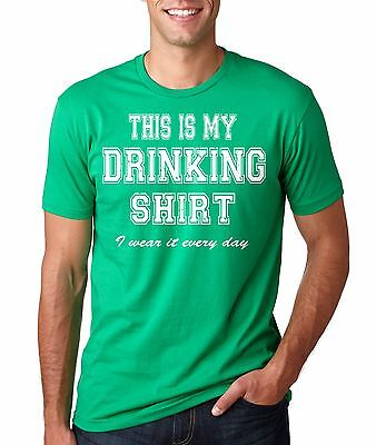 St Patrick's Day Funny Drinking T-shirt Bar T-shirt  St. Pattys Day Party Tee