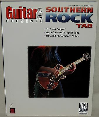 Guitar One Presents: Southern Rock Tab - 15 Great Songs - SC 2004