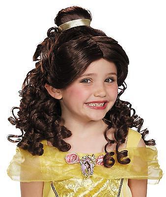 Schöne und das Biest Belle Perücke Kostüm Zubehör DG17806 (Die Schöne Und Das Biest Perücken)