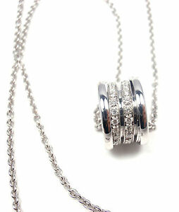 AUTHENTCI-BVLGARI-B-ZERO1-18K-WHITE-GOLD-DIAMOND-PENDANT-NECKLACE