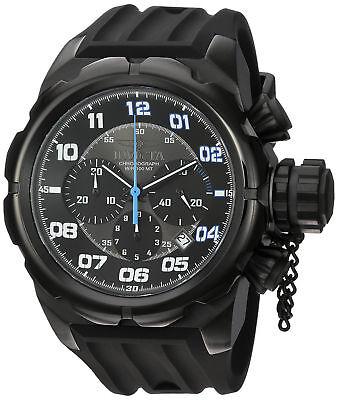 Invicta 22420 Men's Russian Diver Chronograph Black Dial Watch