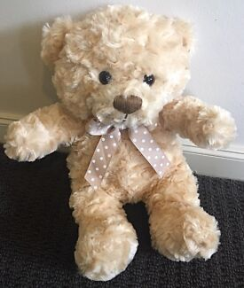 Cuddly Teddy Bear - Complete with a ribbon on neck (Super Soft)