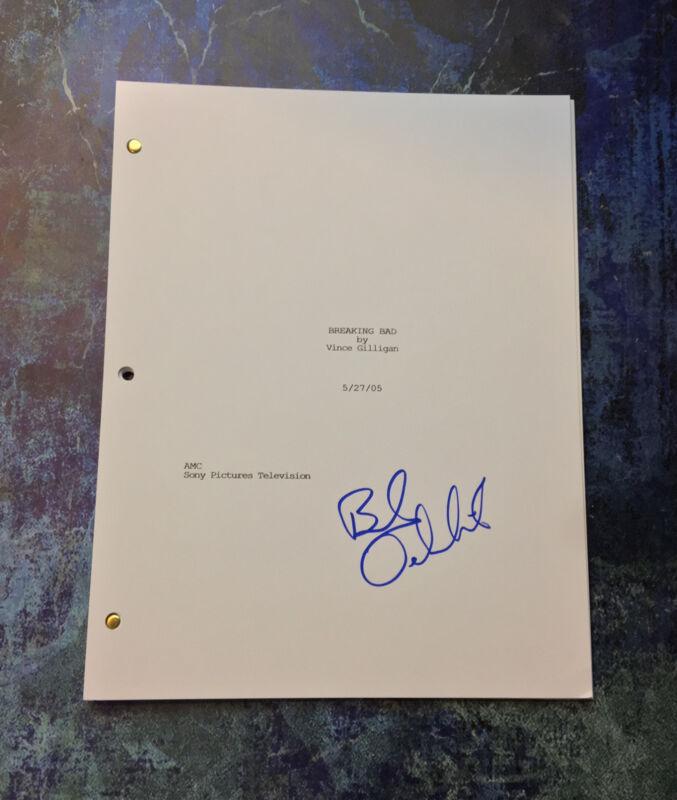 GFA Breaking Bad Saul * BOB ODENKIRK * Signed TV Episode Script PROOF COA