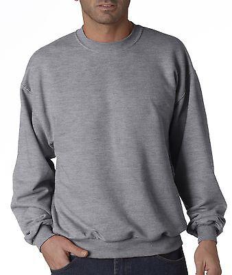 Jerzees Mens Nublend Crew Neck Sweatshirt 50 50 Fleece 562