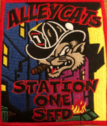 """San Francisco (CA) Fire Department Station-1-Alley Cats #1 """"Free Burning Phase"""""""